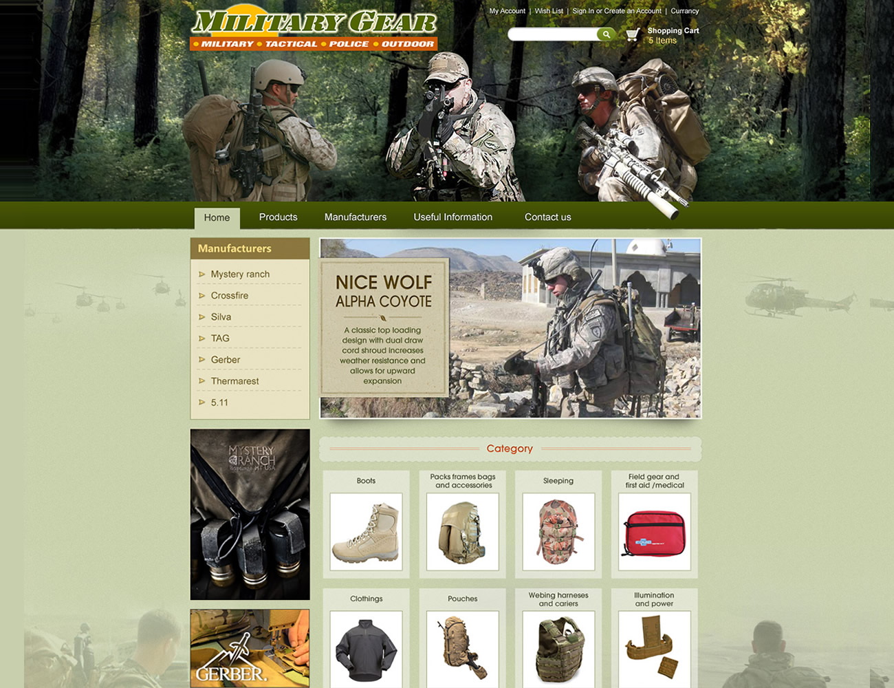 Online Army Store